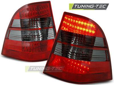 Mercedes Benz W163 M ML Klasse LED Rückleuchten Heckleuchten Rot-Smoke Bj.98-05