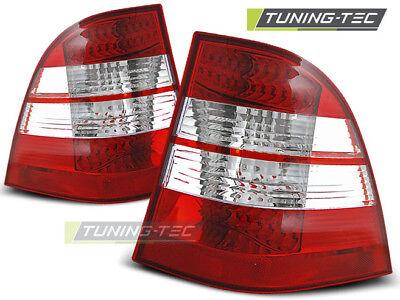 Mercedes Benz W163 M ML Klasse LED Rückleuchten Heckleuchten Rot-Klar Bj.98-05