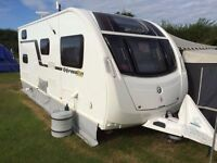 SWIFT 585 EXPRESSION, £12,500.00 ONO, 6 Berth, (2013) Used – Excellent condition Touring Caravan.