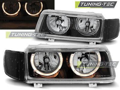 Preiswert-Tunen SCHEINWERFERBLENDEN für VW PASSAT B4 93-97 Böser Blick ABS