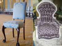 . Get your furniture reupholstered by a Professional .
