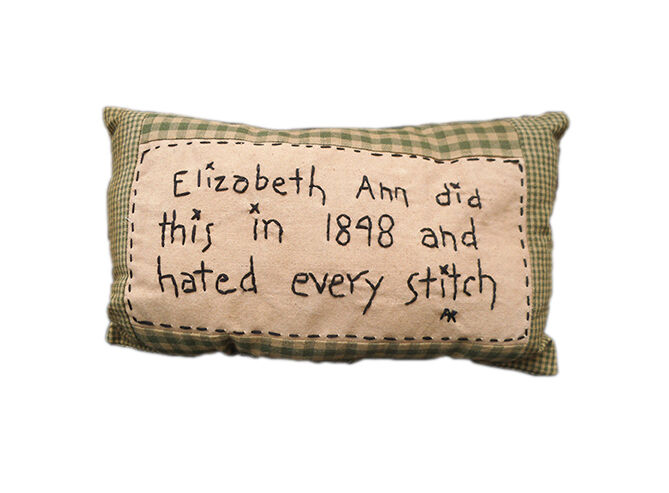 Country Black and Tan Farmhouse Pillow
