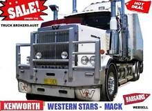 KENWORTHS - WESTERN STARS MACKS & MORE Sydney City Inner Sydney Preview