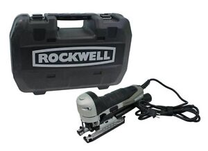 New ROCKWELL Contour RK3734K Corded Electric Compact 5 Amp Jig Saw Jigsaw Kit