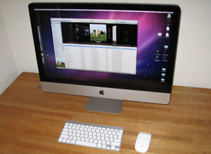 "iMac 27"" with Magic Mouse, Keyboard (priced to sell)"