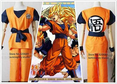 dragon ball z Son Gohan / Son Goku Turtle senRu cosplay carnival costume Kimono - Dragon Ball Z Gohan Costume