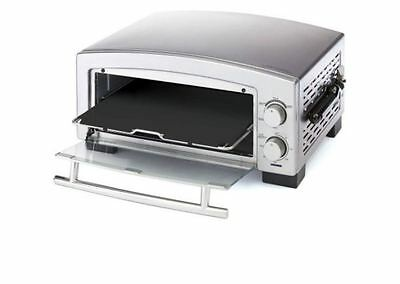 New Pizza Oven Deck Commercial Toaster Electric 5 Min Stainless Steel Durable