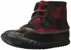 Sorel Women's Out N About Snow Boot, Mud Black, 7 B US
