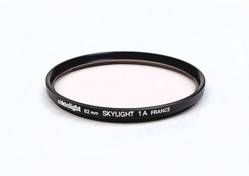 Beautiful French Made Cokinlight 62mm Skylight 1A Lens Filter w/ Case, Mint-