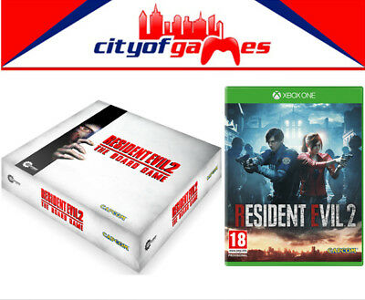 Resident Evil 2 Xbox One Game & The Board Game Bundle New  ()