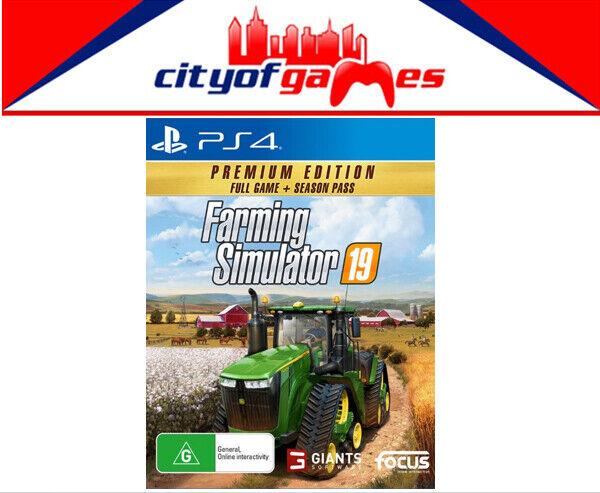 Farming sim 19 ps4