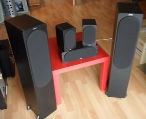 Complete 5.1 home audio setup FS paid 1200 only 400