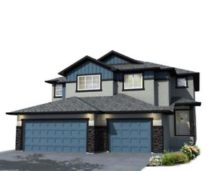 New Duplex with 2nd Floor Laundry! Backing Onto A Park!!