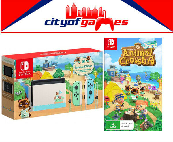 Animal Crossing New Horizons Edition Nintendo Switch Console