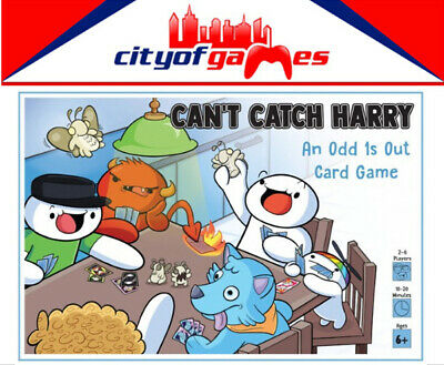 Can't Catch Harry Card Game New Back (Catch Kids Club)