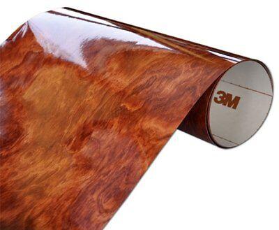 3M DI-NOC Wurzelholz Folie glanzend WG-364GN 30x50cm