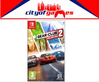 Gear Club Unlimited 2 Nintendo Switch Game Brand New