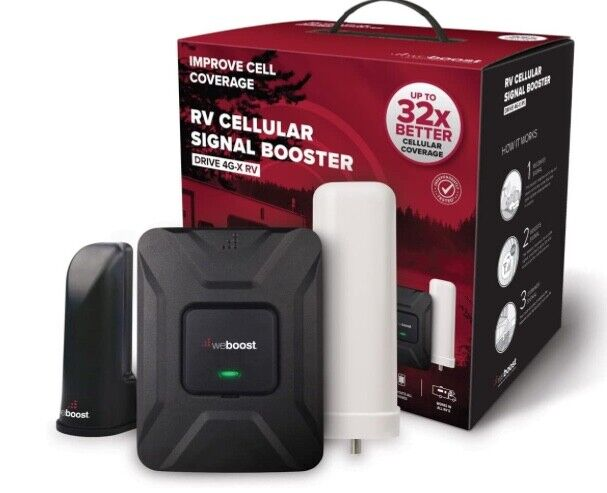 CELL SIGNAL BOOSTER weBoost drive 4G-X RV 50 (470410) for RV or Motorhome