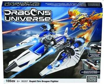 Megabloks Dragon Universe 95207 Rapid Fire Dragon Fighter