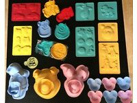 DISNEY Cake Decorating Moulds & Cutters