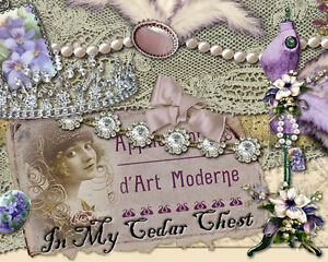 Vtg-Chic-Victorian-Shabby-Jewelry-Pearls-Antique-Ebay-Auction-Template-P-E-P