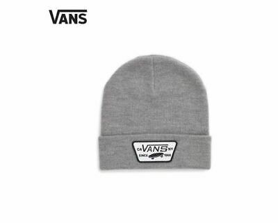 Vans Milford Beanie One Size Heather Grey Running, Soccer,Golf Winter Hat