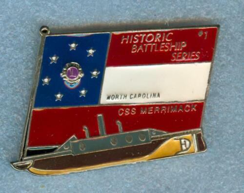 Lions Club Pins -  CSS Merrimack North Carolina Silver