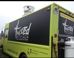 Solid FOOD TRUCK/catering TRUCK