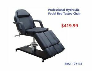 Greenlife Etobicoke Hydraulic Facial Bed Tattoo Chair Bed $419