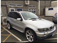 BMW X5i Petrol & Lpg converted