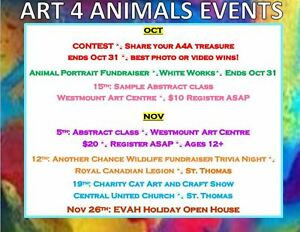 Art 4 Animals - Crafts and Art- All purchases help save lifes! London Ontario image 1