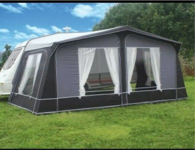 Pyramid Tuscany full awning in grey size 925 | in Gosforth ...