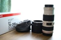 Canon EF 70-200 f4 L IS USM like new