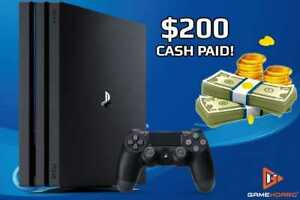 WANTED PS4 $200 CASH PAID