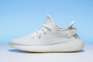 DS ADIDAS YEEZY V2 350 BOOST TRIPLE WHITE