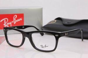 Ray Ban 5228 2000 Black Eyeglasses men women spectacal glasses 53 17 140