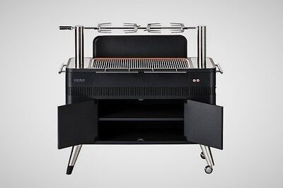 Everdure HUB Electric Ignition Charcoal Rotisserie BBQ Grill Heston Blumenthal