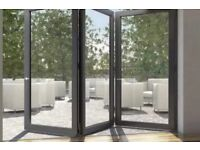 3 Door Bi Folding Door Glazed