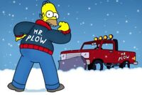 Snow plowing contract service