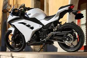 2012 White Kawasaki Ninja 300 ABS Learner Approved Wolli Creek Rockdale Area Preview