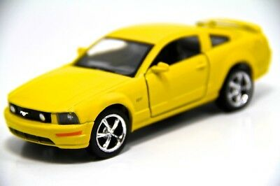 """New 5"""" Kinsmart 2006 Ford Mustang GT Diecast Model Toy Car 1:38 Yellow for sale  Shipping to Canada"""