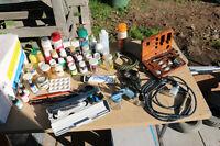 Air Brush & supplies