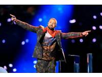 Justin Timberlake, Glasgow Hydro x3 seated tickets