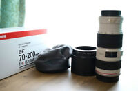 Canon EF 70-200 f4 L IS in the box