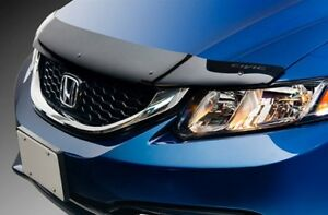 Honda Civic Hood Deflector and Cargo Net