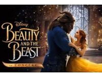 4 x Beauty and the Beast tickets