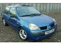 (55) 2005 Renault Clio 1.2 Expression 3dr Manual