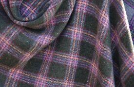 Frosty fox 3 way tweed style cape wrap