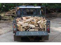 Seasond hard wood logs £40 large truck load 🔥