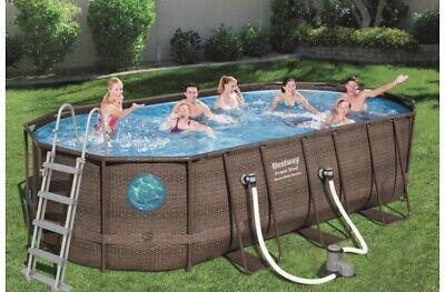 Bestway Swimming Pool 549x274x122 RattanVista Set # 56716